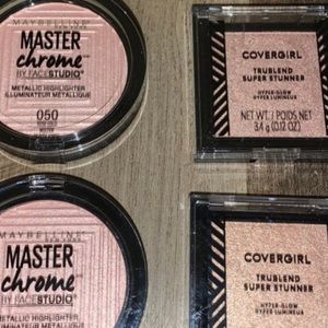 MAYBELLINE & COVERGIRL Highlighters